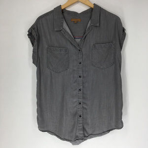 Jachs Girlfriend L Shirt Button Gray